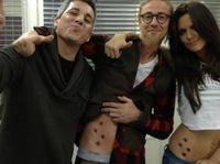 Guti y Romina estrenan tattoo perruno... ¡guau!