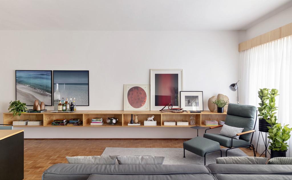 Un piso contemporáneo y muy práctico en São Paolo para madre e hijo