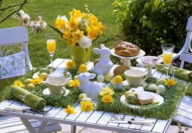 Tres ideas para decorar la casa en Pascua