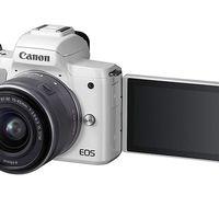 Si buscas una sin espejo diferente, en MediaMarkt tienes la EOS M50 de Canon con objetivo 14-45 por sólo 649 euros