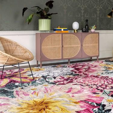 Si estás buscando alfombras bonitas, las has encontrado: la diseñadora  Mary Katrantzou crea una colección para The Rug Company