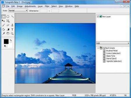 Fotografix, programa de edición gratuito