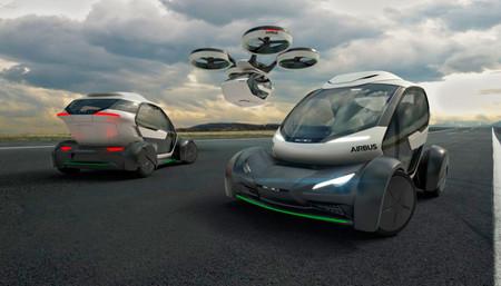 Pop.Up, el coche volador de Airbus diseñado por Italdesign