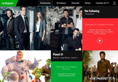 Nubeox, así es el nuevo servicio VOD y de streaming en directo de Atresmedia