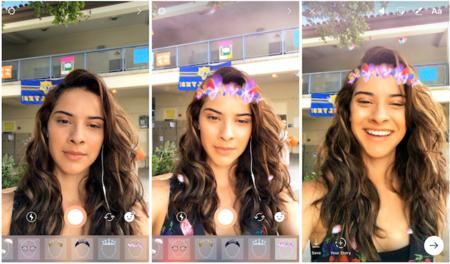 Instagram sigue con su particular lucha con Snapchat, llegan los filtros faciales y nuevas mejoras