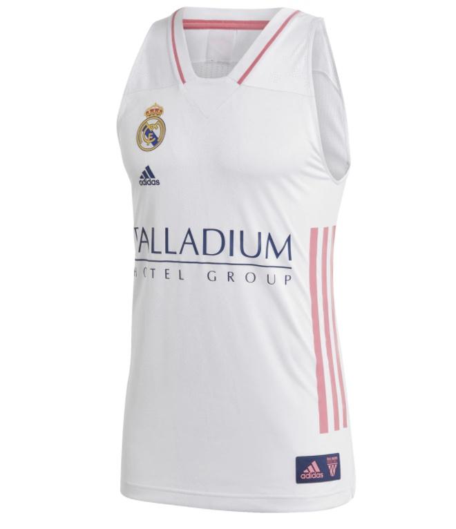 ADIDAS Camiseta de hombre de baloncesto Real Madrid 2020-2021 adidas