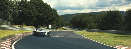 McLaren P1 sliding Nürburgring Nordschleife