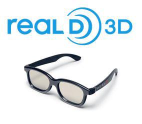 Gafas 3D RealD 3D