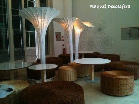 Hemos visto... artesanía y diseño exclusivo combinados en un mismo espacio