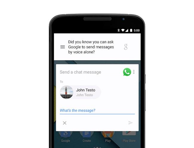 Ok Google Whatsapp