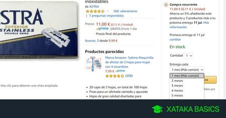 Cómo cancelar las compras recurrentes de Amazon
