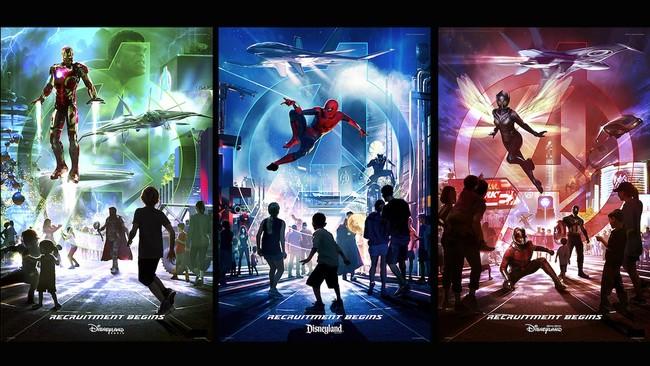 Marvel Land Disney