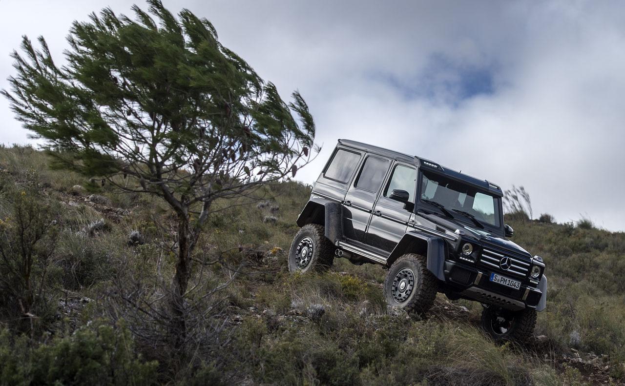 Foto de Mercedes-Benz G 500 4x4², toma de contacto (38/127)