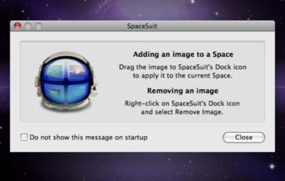 SpaceSuit, diferentes fondos de pantalla para cada espacio de Spaces