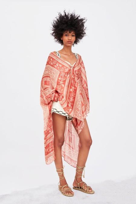 Kimono Largo De Playa 7