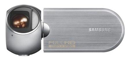 Samsung R10, videocámara más ergonómica
