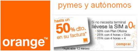 Básico de Orange se extiende a las empresas con descuentos de hasta el 50%