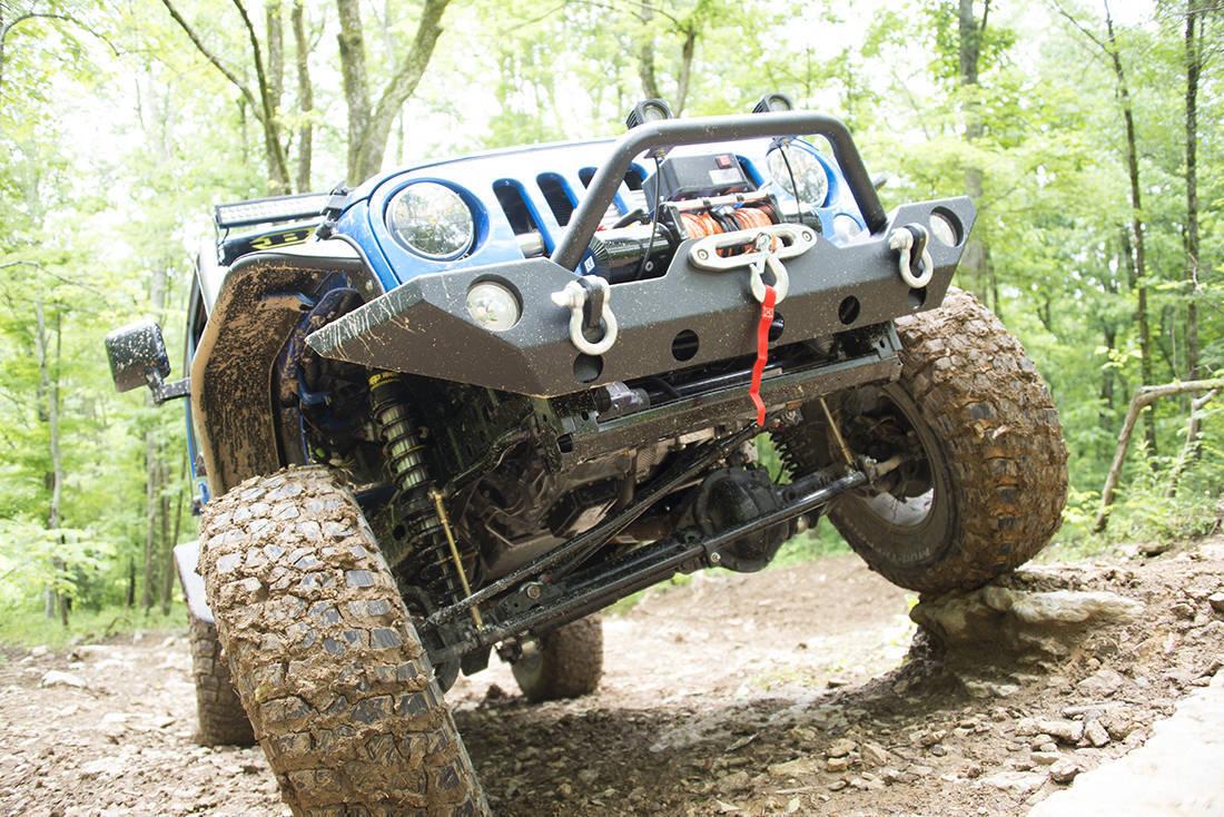 Foto de Jeep Wrangler Project Trail Force (13/19)