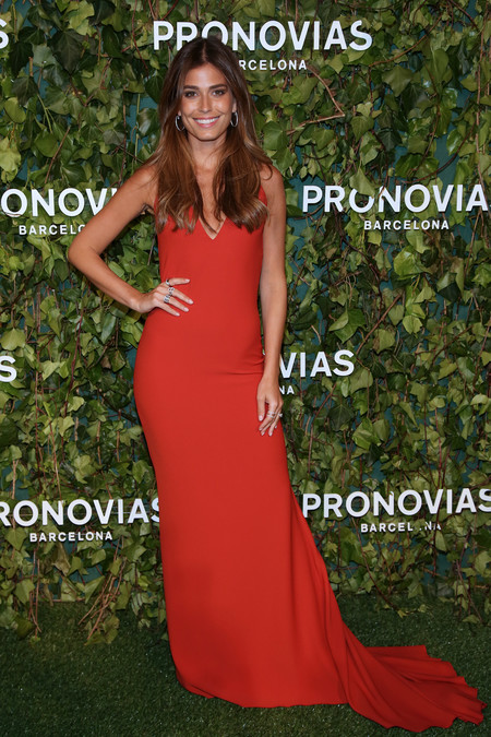 Coral Simanovich Photocall Pronovias Fashion Show