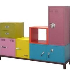Foto 4 de 5 de la galería muebles-de-almacenaje-de-colores en Decoesfera