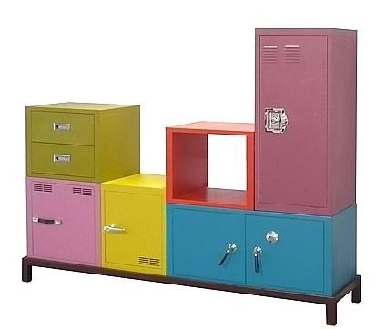 Foto de Muebles de almacenaje de colores (4/5)