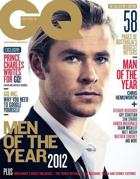 No podemos estar más de acuerdo: Chris Hemsworth hombre del año GQ Australia