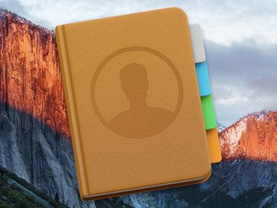 Domina a fondo y sin dolor 'Contactos' en OS X El Capitan