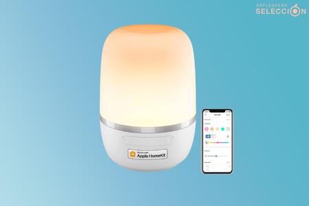 Esta lámparita de noche RGB A+ de meross es compatible con Apple HomeKit y está a mitad de precio en Amazon: 20,99 euros