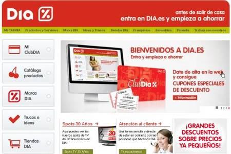 Consigue más descuentos en Día en su página web