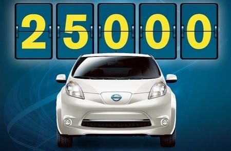 El Nissan Leaf supera las 25.000 unidades vendidas en EE.UU. 62.000 en todo el mundo