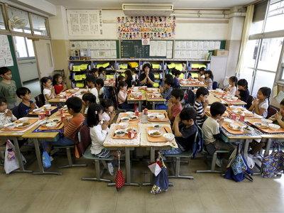 Japón nos enseña que debemos aprender a comer equilibradamente desde la niñez
