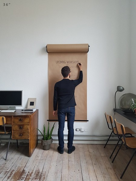 Para la cocina, la oficina o el cuarto de los niños el Studio Roller es la solución para los que necesitan tenerlo todo apuntado en casa o en el trabajo