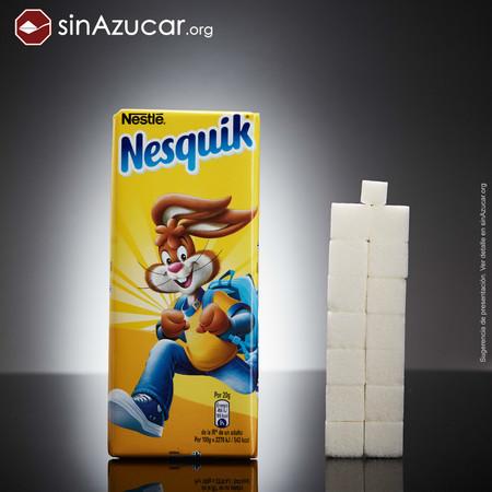 Azúcar en bebida de Chocolate