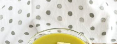 Crema de calabacitas. Receta saludable y sencilla