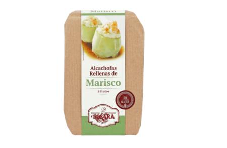 Alcachofas Rellenas De Marisco Rosara 6 Frutos Sin Gluten