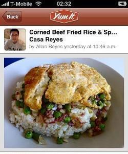 Yumit, recomienda desde el móvil tus platos favoritos