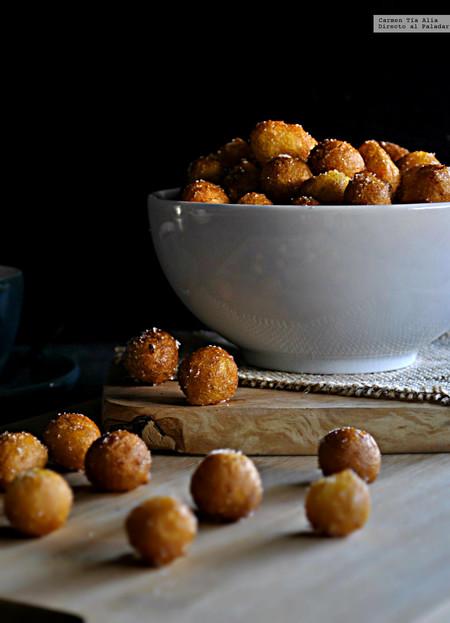 Buñuelos de calabaza. Receta tradicional