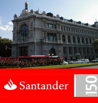 El banco santander y el banco de espa a ganan cr dito for Banco santander abierto sabado madrid