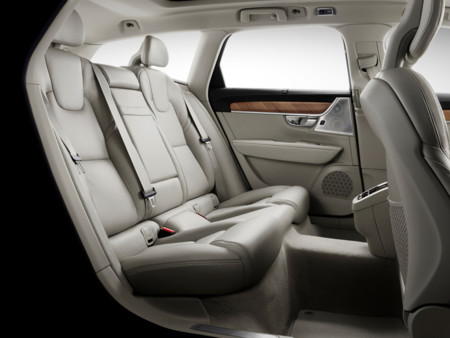 173844 Volvo V90 Studio Interior Rear Seats