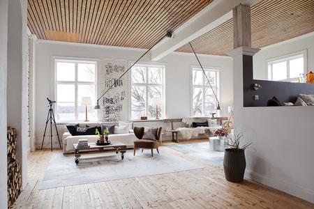 Un moderno apartamento sueco