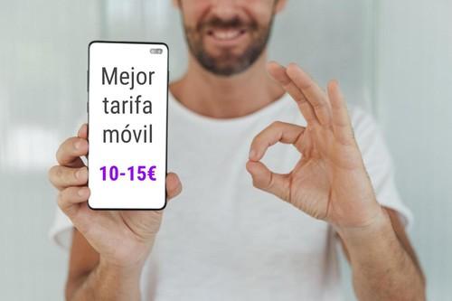 Las mejores tarifas móviles para hablar y navegar entre 10 y 15 euros