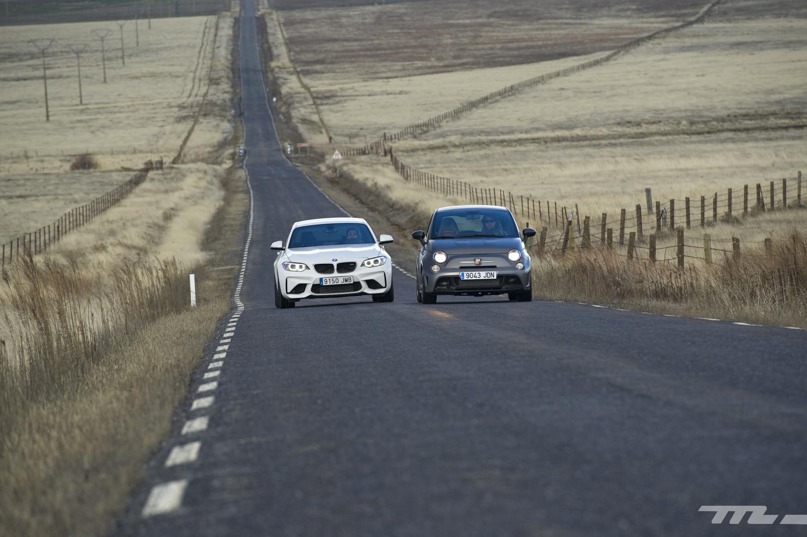 Foto de Abarth 695 Biposto vs BMW M2 (28/44)