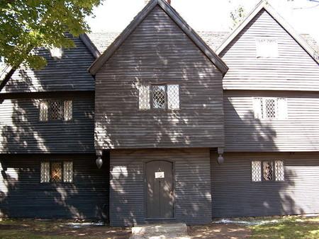 Una de las pocas casas que quedan con vínculos directos con los juicios de brujería de Salem de 1692