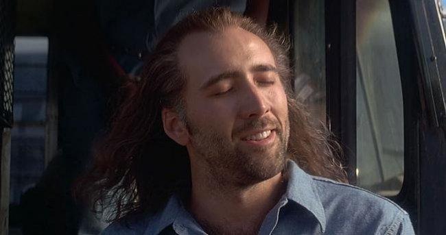 Nicolas Cage orgásmico