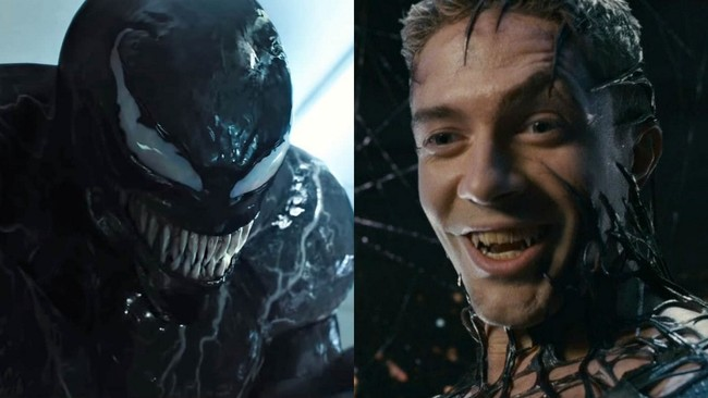 Venom and Topher Grace