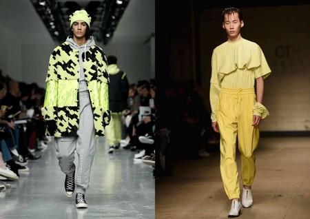 Bright Yellow London Fashion Week Trend Fall Winter 2