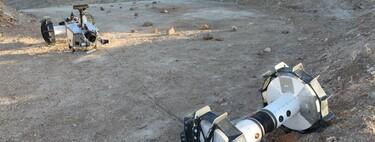 Este nuevo rover de la NASA es capaz de hacer rápel por los lados de los cráteres y acantilados de otros planetas