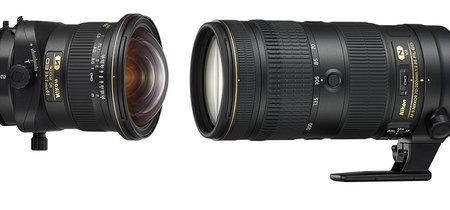AFS NIKKOR 70-200mm f/2.8E FL ED VR y PC NIKKOR 19mm f/4E ED: todos los detalles sobre los dos nuevos objetivos Nikon