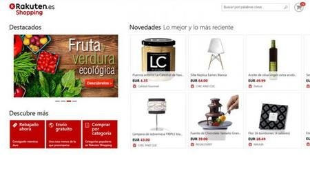 Rakuten Shopping para Windows 8