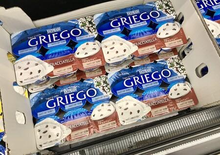 yogur griego stracciatella